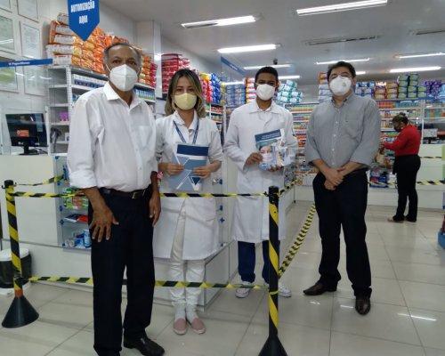 Conselho reabre subsede de Parnaíba e visita farmacêuticos